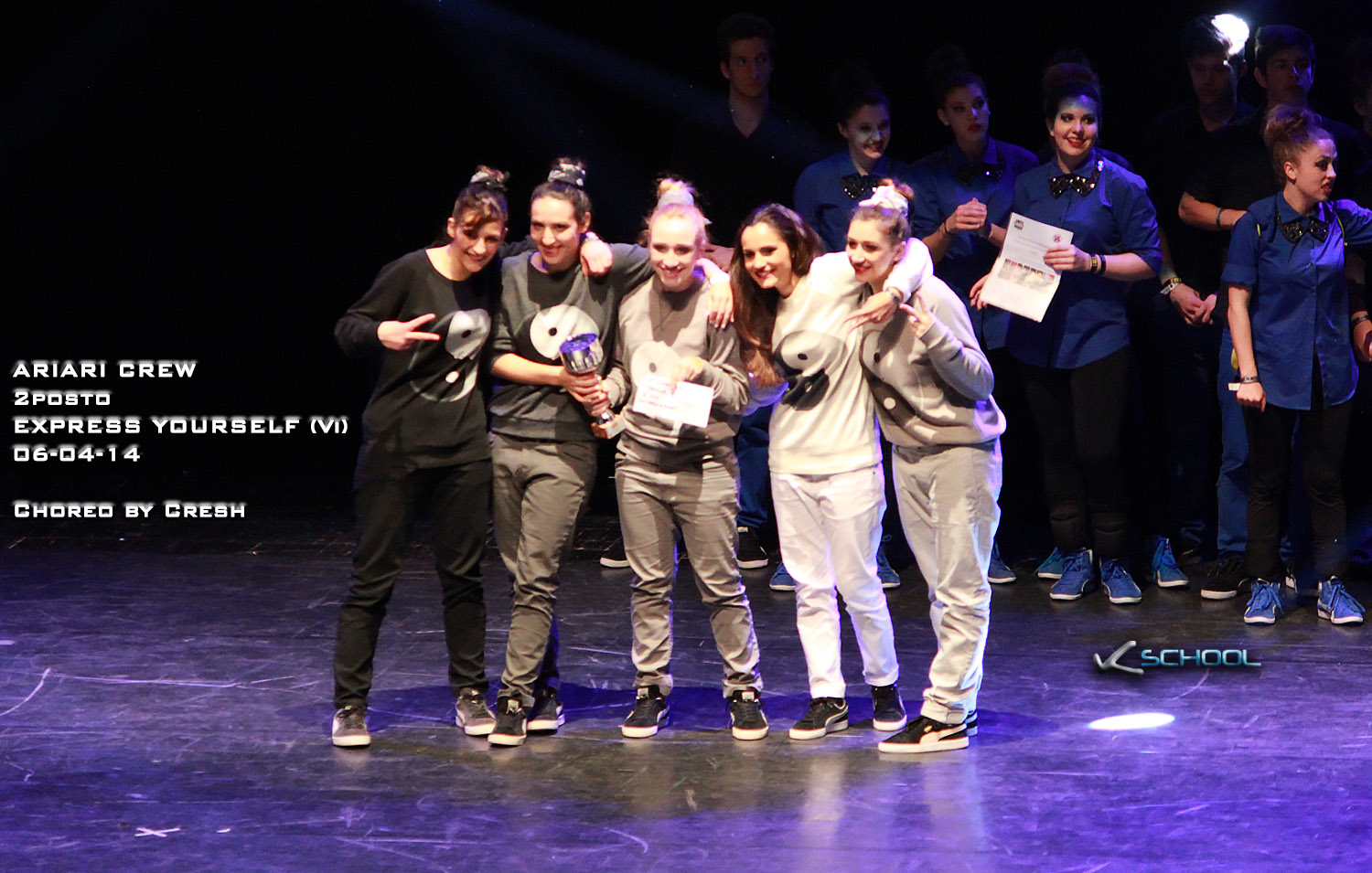 ARIARI CREW | EXPRESS YOURSELF 2°posto | VICENZA 2014