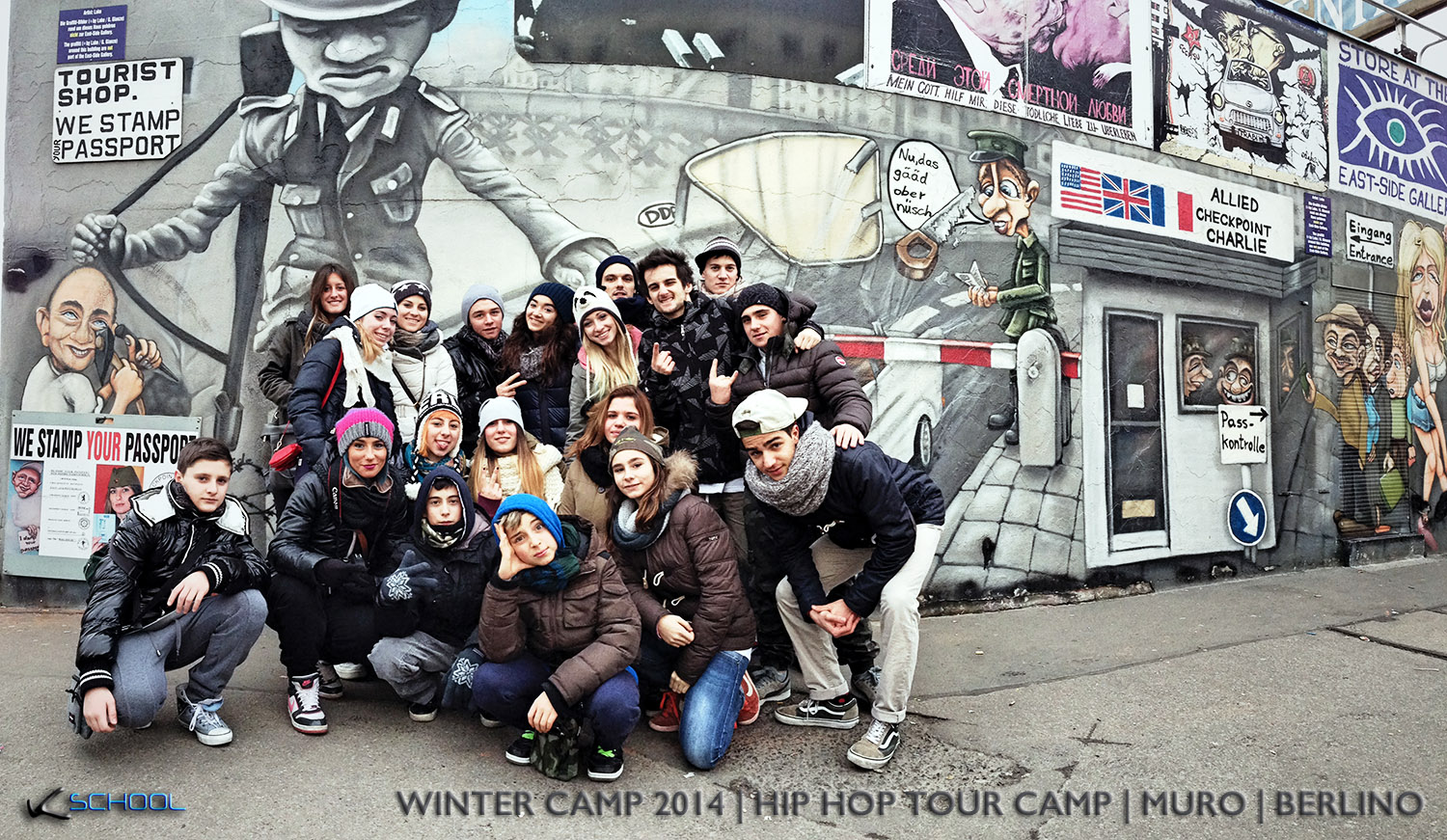 MURO DI BERLINO | HIP HOP TOUR WINTER CAMP 2014