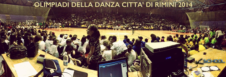 pubblico, olimpiadi della danza città di Rimini 2014
